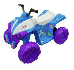 Kid Motorz Monster Quad 12v Girl Ride On Blue And Purple
