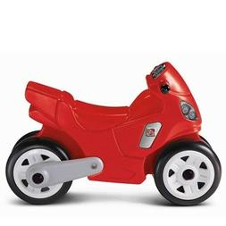 Step2 Motorcycle Ride-On for Kids Red Toy Riding Indoor Outd