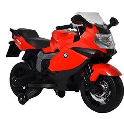 Kids Motorcycle Ride On Outdoor Kids Toy Red BMW Toddler Rea