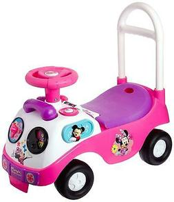 My First Minnie Ride On Toddlers Play Toy Steer Wheel Drivin