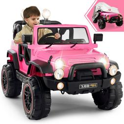 New 12V Electric Battery Kids Ride on Car Toys 3 Speeds with