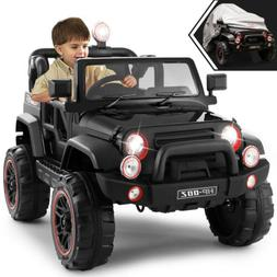 12V Battery Kids Ride on Truck Car Toys MP3 LED Light Remote