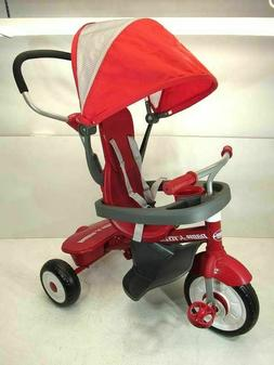 "New Radio Flyer 4-in-1 Stroll 'N Trike, Red, 19.88"" x 35.04"""