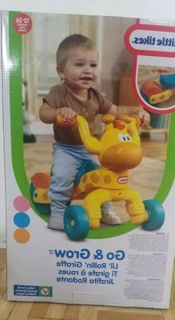 NEW IN BOX Little Tikes Go and Grow Lil' Rollin' Giraffe Rid