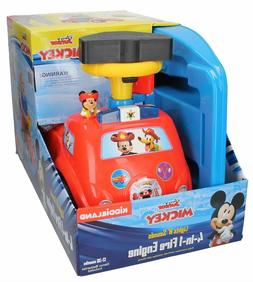 NEW Kiddieland Toys Limited Disney Mickey 4-in-1 Drive Along