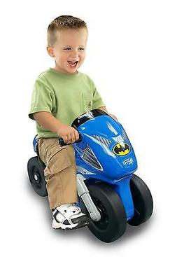 New Kids Batman Motorcycle Toddlers Blue Ride On Bike For 1