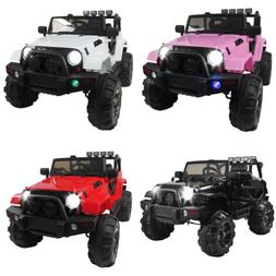New Kids Ride On Car 12V Electric Power Wheels Remote Contro