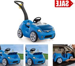 NEW Step2 Whisper Ride II Ride On Push Car Blue best gift fo
