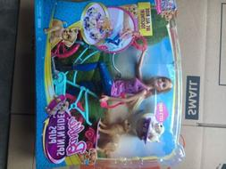 NIB Barbie Spin'N Ride Pups We All Ride Together ~ Great Pup