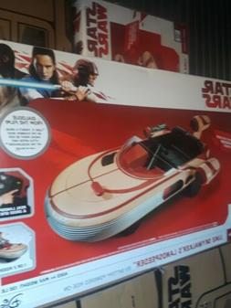 NIB Star Wars Luke Skywalker's Landspeeder 12v Radio Flyer R