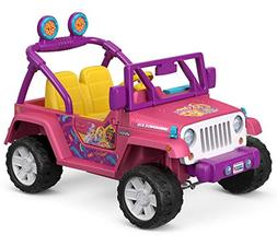 Power Wheels Nickelodeon Sunny Day Jeep Wrangler