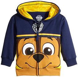 Nickelodeon Toddler Boys' Paw Patrol Character Big Face Zip-