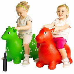 NUTRA THERAPEUTIC Inflatable Bouncing Jumping Ride On Toy An