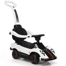 Pagani Licensed Electric Kids Ride On Push Car Toddler Handl