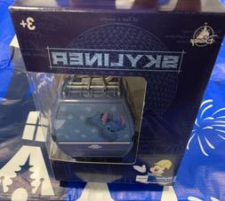 DIsney Parks Skyliner Gondola Ride Toy w/Stand Stitch New Re