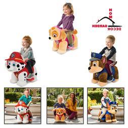 Paw Patrol Chase Marshall Skye Children Ride On Toy Toddler