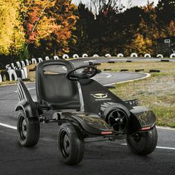 Pedal Car Go Kart Kids Ride On Toys Black Batman Lookalike M
