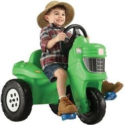 Step2 Pedal Farm Tractor Ride On Toy Fun Outdoor Play Boys G