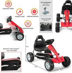 Pedal Go Kart Kids Ride On Car Toys Red Mobile Toddler Cars
