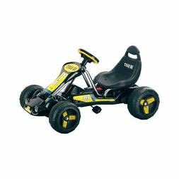 Pedal-Powered Go-Kart Black Stealth Lil' Rider Outdoor Kids