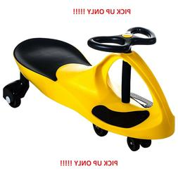 PICK UP ONLY  Ride on Toy Wiggle Car by Lil' Rider – Yello