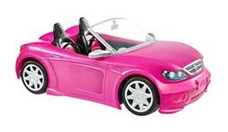 Pink Barbie Car Glam Convertible Two Seater Glitter Toy Vehi