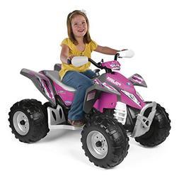 Peg Perego Polaris Outlaw Power Children's Ride on Toy, Pink