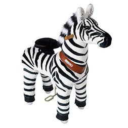 Pony Cycle Riding Zebra Small Horse