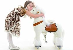 Smart Gear Pony Cycle White Unicorn Ride On Toy:   BRAND NEW