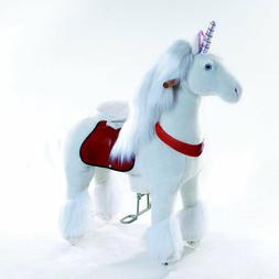 Smart Gear Pony Cycle White Unicorn Ride-On Toy