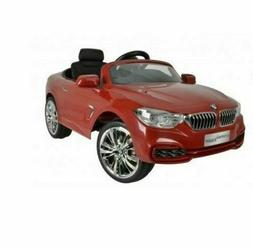 BMW 4 Series Power 12V Kids Ride On 4 Wheels Car- Sporty RED