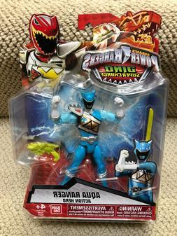 "Power Rangers Dino Super Charge DINO DRIVE 5"" AQUA Ranger fi"