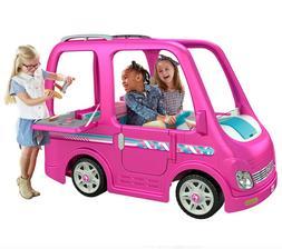 Power Wheels Barbie Dream Camper, Battery-Powered Ride-On Ve