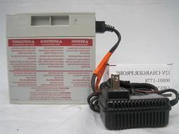 Power Wheels Barbie Jammin Jeep Battery 12V Gray Battery & 1
