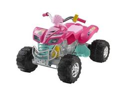 Fisher-Price Power Wheels Barbie Kawasaki KFX - Twist Grip T