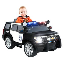 Power Wheels Chevy Tahoe Police SUV Ride On Toy Sounds Worki