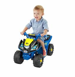 Power Wheels DC Super Friends Batman Lil Quad 6 Volt Ride On