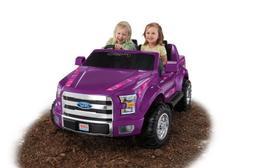 Fisher-Price Power Wheels Ford F150 Truck Purple Girls Kids