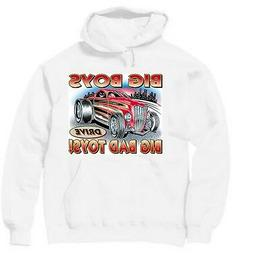 Pullover Hooded Transportation Sweatshirt Big Boys Drive Bad