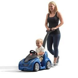 Step2 Push Around Buggy GT Blue Ride-On Toy Outdoor Play Fun
