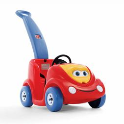 Push Around Buggy Kids Toddler Car Ride On W Storage Outdoor