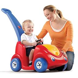Outdoor Step2 Push Around Buggy Kids Ride Toy Fun Red Car Wi