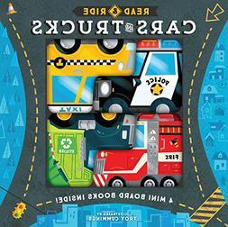 Read & Ride: Cars & Trucks: 4 board books inside!
