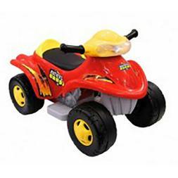 Red Junior Quad Ride On Toy 0895 for Kids / Boys- Retail Pri