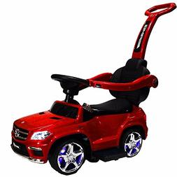 Ride-on Toys SXZ1578RD Mercedes Push Car Ride-On, Red