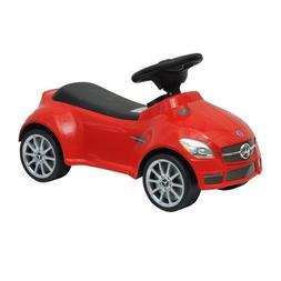 Red Mercedes SLK AMG Kids Ride-On Push Car Lightweight Foot