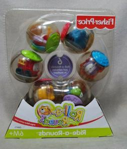 Fisher Price Ride-a-Rounds Balls  Roll-A- Rounds Vehicle 200