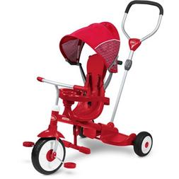 Radio Flyer Ride & Stand Stroll 'N Trike Red Outdoor Toy Inf