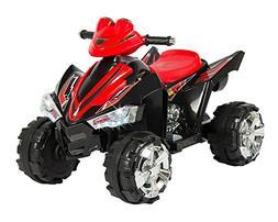 Kids Ride On ATV Quad 4 Wheeler 12V Battery Power Electric L