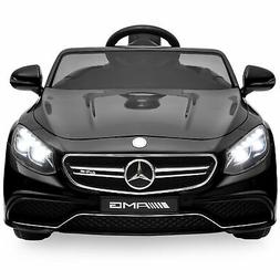 Best Choice Products 12V Kids Licensed Mercedes-Benz S63 Cou